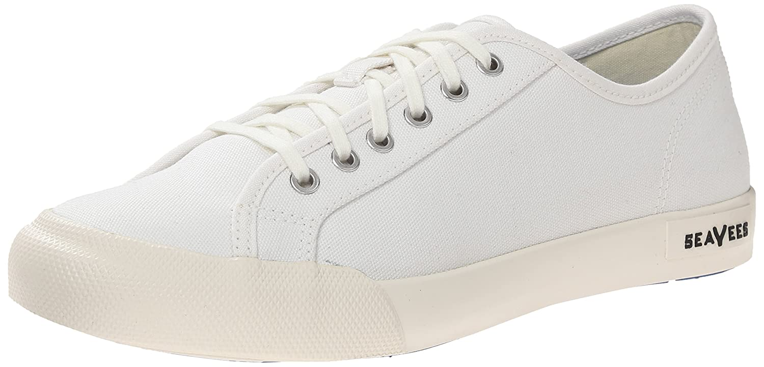 SeaVees Women's Monterey Lace up Sneaker B00M1NSY34 8 B(M) US|Bleach