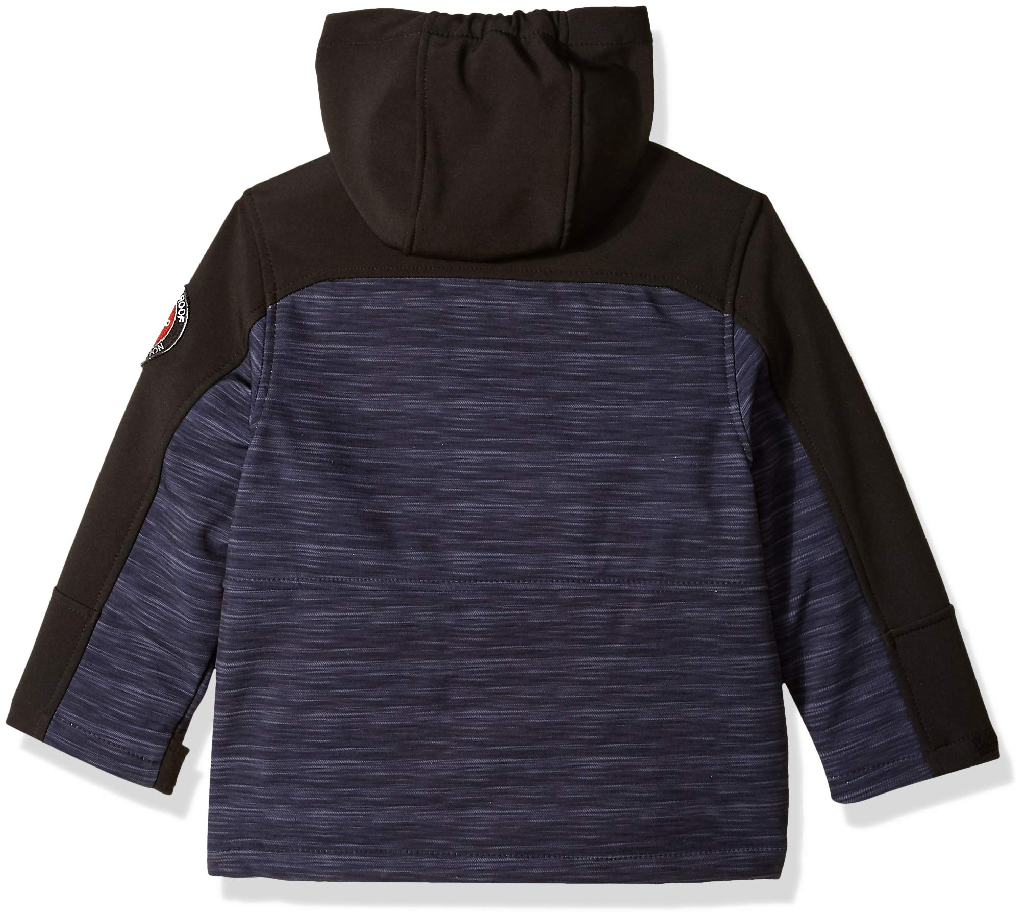 32 DEGREES Weatherproof Boys' Little Outerwear Jacket (More Styles Available), Softshell Systems Charcoal Heather/Black, 4 by 32 DEGREES (Image #2)