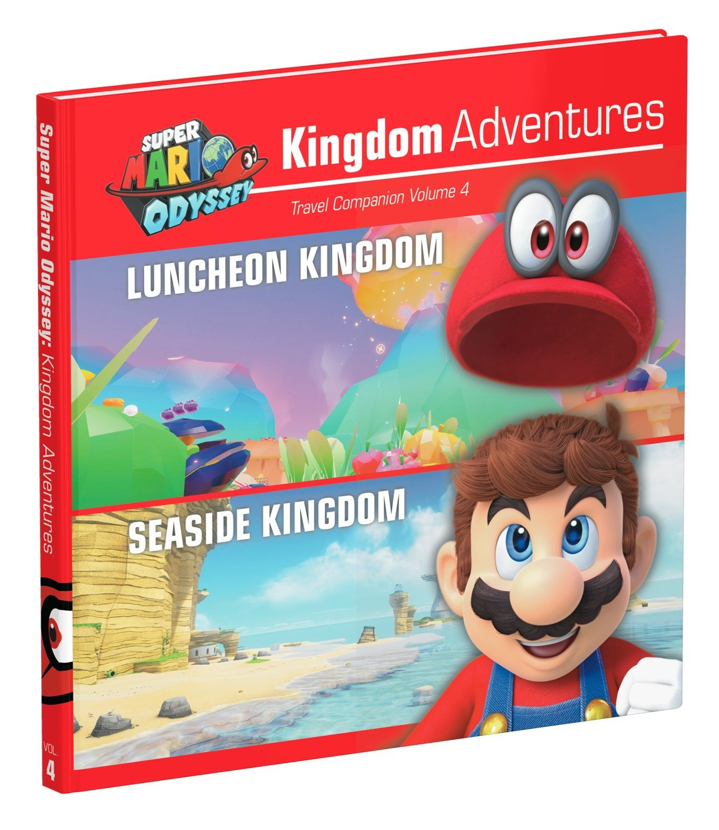 Super Mario Odyssey: Kingdom Adventures Vol 4 Idioma Inglés: Amazon.es: Prima Games: Libros en idiomas extranjeros