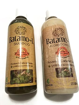 Prevent and Control Hair Loss Set of Batamo-T Shampoo and Conditioner 500ml each.