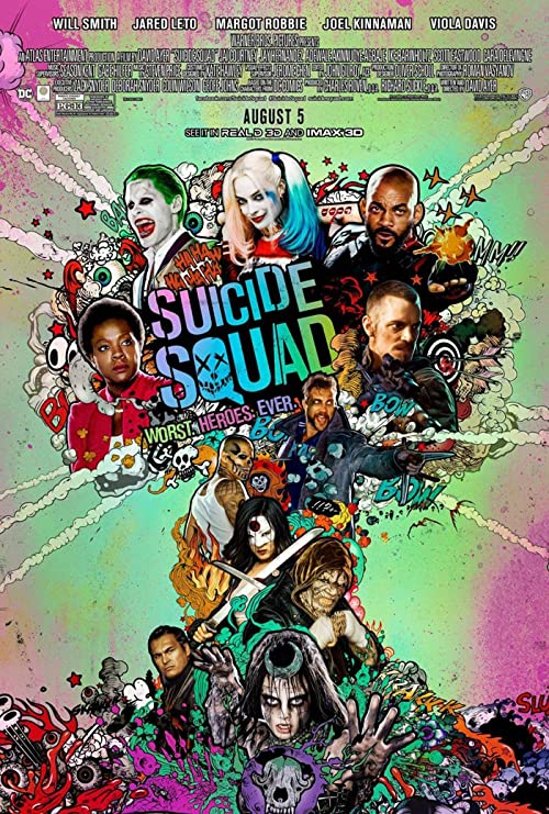 24x36 SUICIDE SQUAD One Sheet POSTER rolled poster