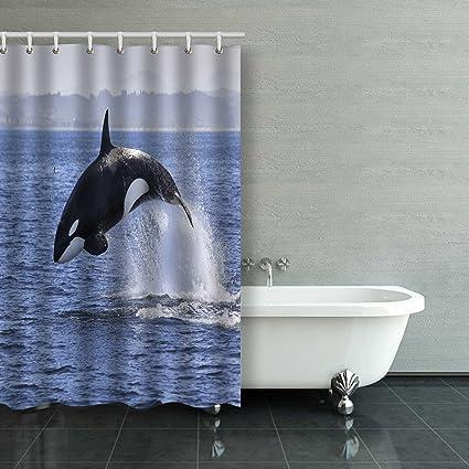 Amazon Emvency Killer Whale Orcinus Orca 48x72 Inch Waterproof