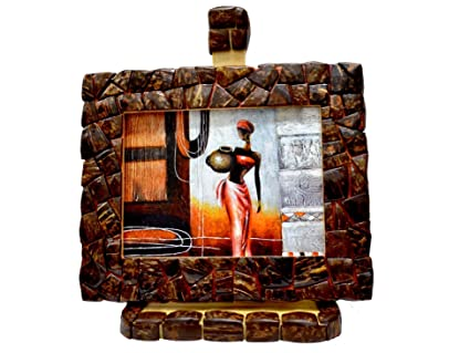 Buy Just Frames Hand-Crafted Decorative Style Wooden Table Top Photo ...