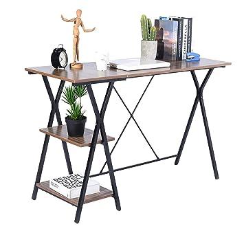 Mesa de escritorio para ordenador de oficina, casa, ordenador ...