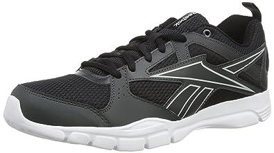 c11da180b04 Reebok Men s Trainfusion 5.0 Fitness Shoes Black Size  6 UK  Amazon ...
