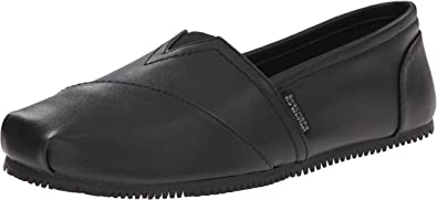 Amazon.com | Skechers for Work Women's Kincaid II Slip On Slip Resistant  Loafer | Loafers & Slip-Ons