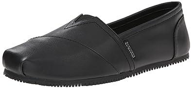 Skechers for Work Women's Kincaid II Slip On Boot, Black, ...