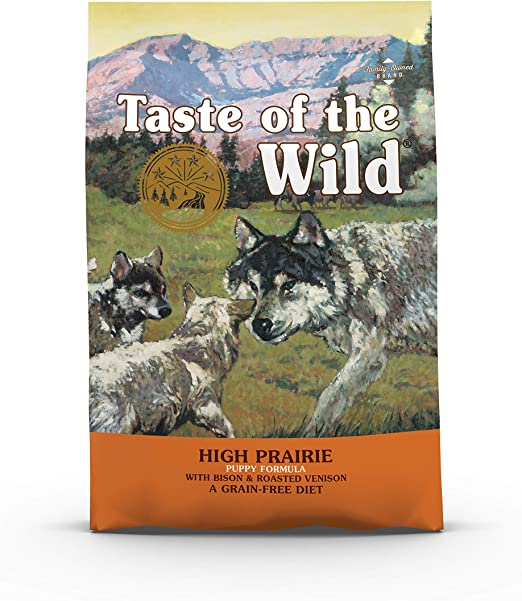 Taste Of The Wild pienso para cachorros con Bisonte y Venado asados 2kg High prairie puppy: Amazon.es: Productos para mascotas