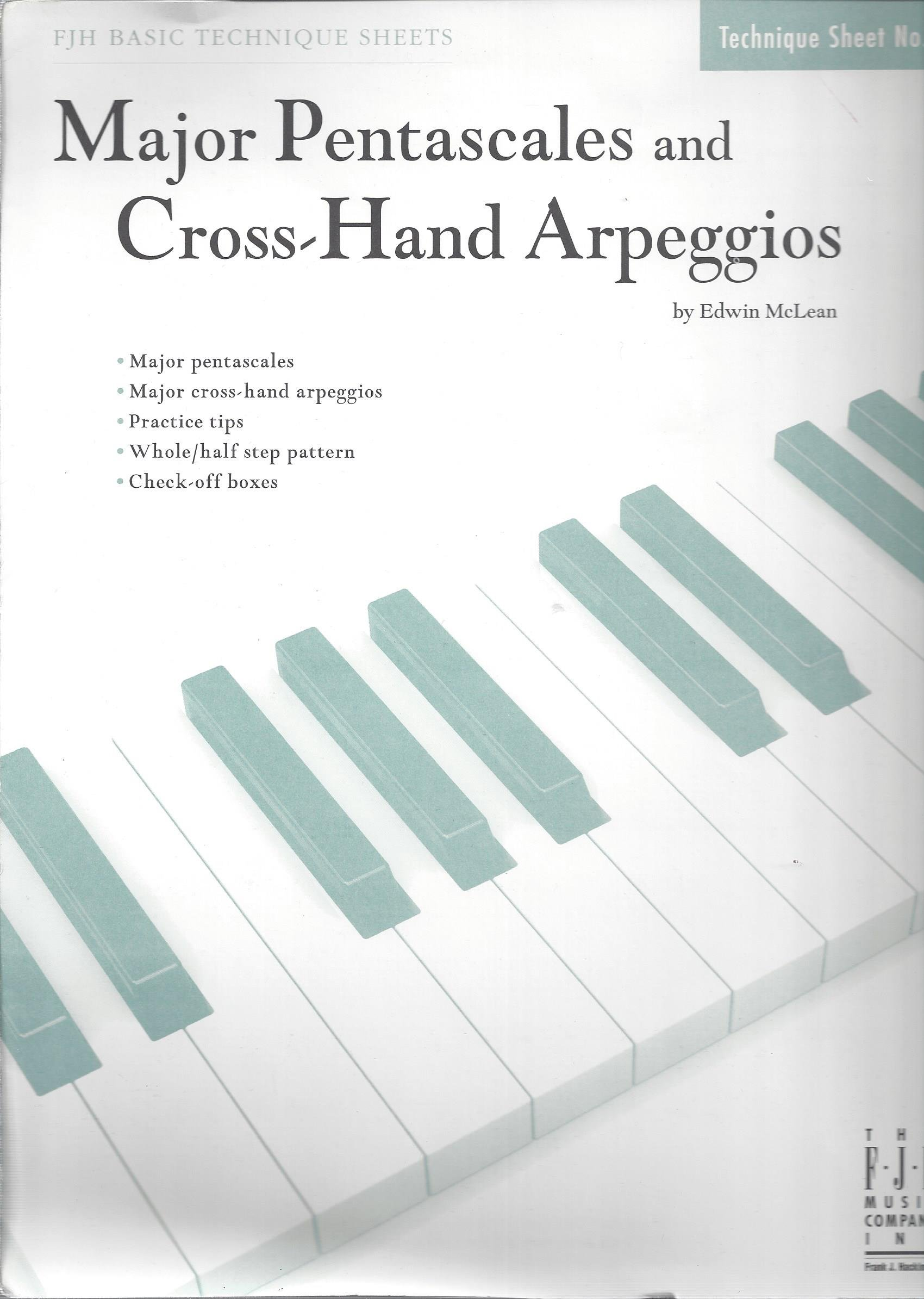 Major Pentascales and Cross-Hand Arpeggios - FJH Basic Technique ...