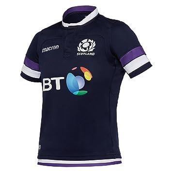 camiseta replica primera equipación niño escocia rugby 2017/18 ...