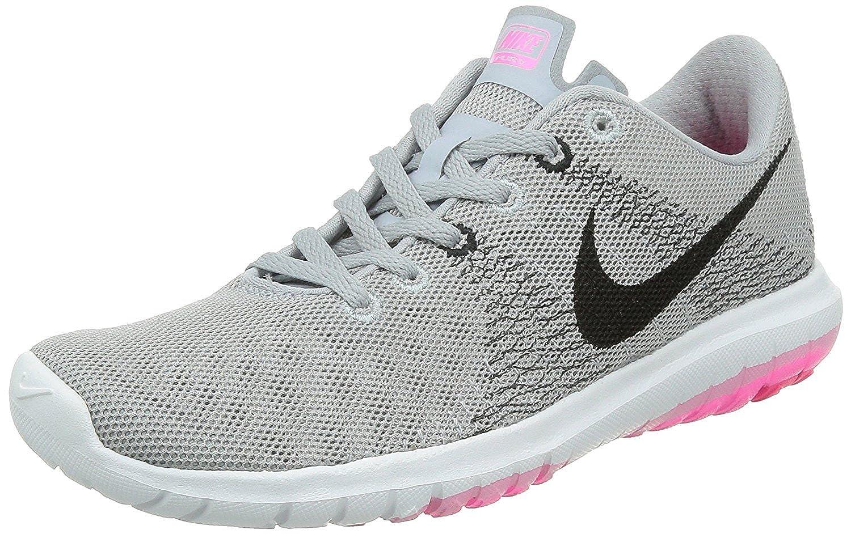 Nike Women's Flex Fury Running Shoes, Gris LoupNoir Rose