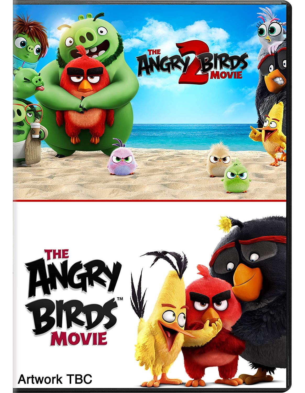the angry birds movie 2 dvd opening