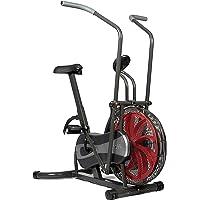 SportPlus - Vélo elliptique et d'appartement 2 en 1 - Fan bike - Résistance réglable en continu (par système éolien) - ordinateur de contrôle - Entraînement Cardio et Fitness - Sécurité testée