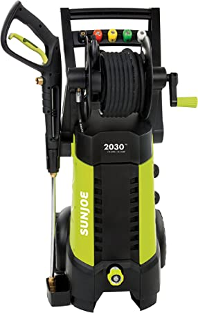 Sun Joe SPX3001 2030 PSI 1.76 GPM 14.5 AMP Electric Pressure Washer with Hose Reel