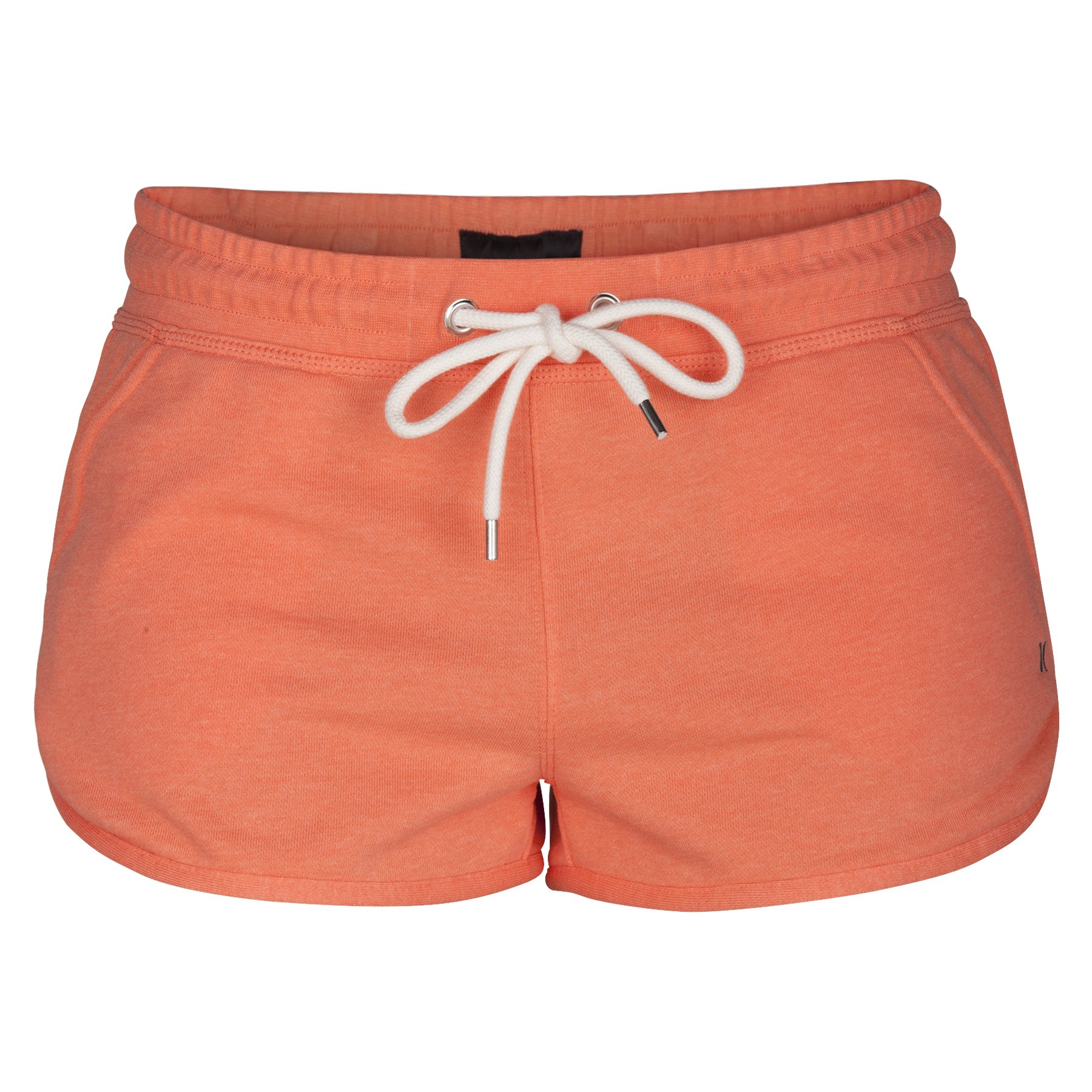 Hurley Women's One And Only 2'' Fleece Shorts, Light Wild Mango Heather - S