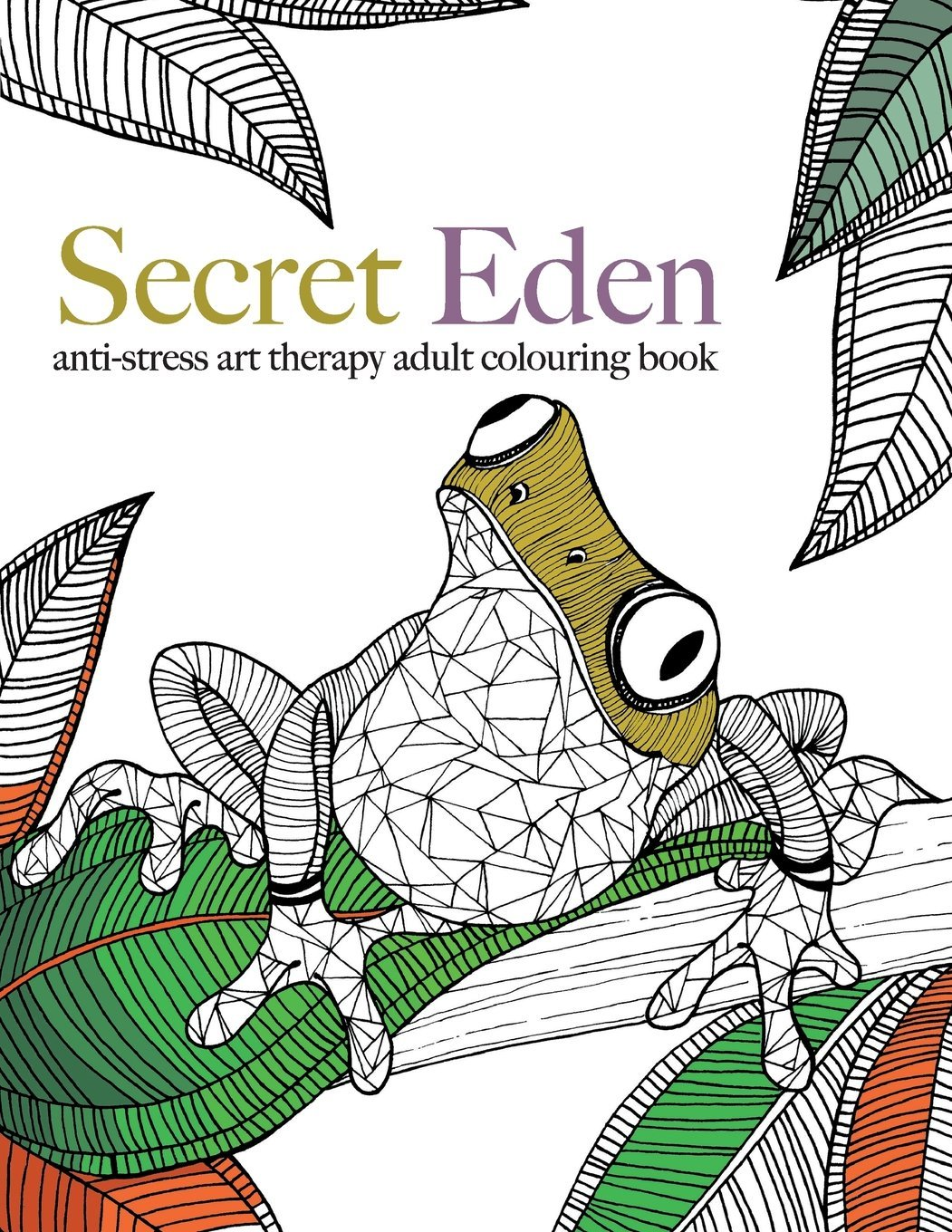 Secret Eden Anti Stress Art Therapy Colouring Book Christina Rose 9781910771365 Books
