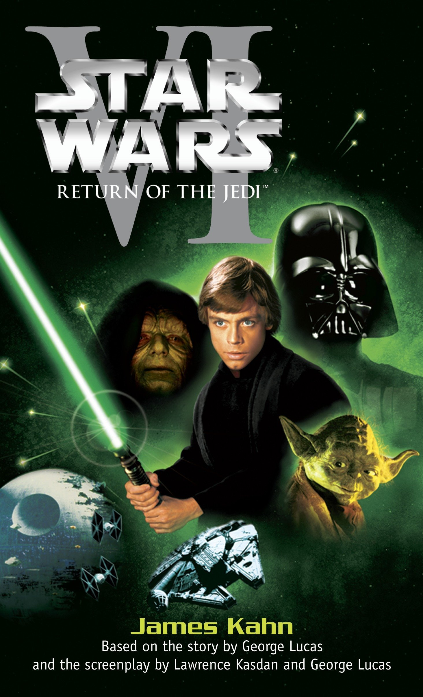 Amazon.com: Star Wars : Return of the Jedi (9780345307675): Kahn, James:  Books