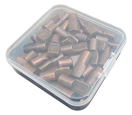 in contenitore robusto ripiano per armadio pioli con foro 36-pack 6/mm a L mensola poggia 36PIECE set 1//10,2/cm bracket-style mensola staffa di supporto mobili