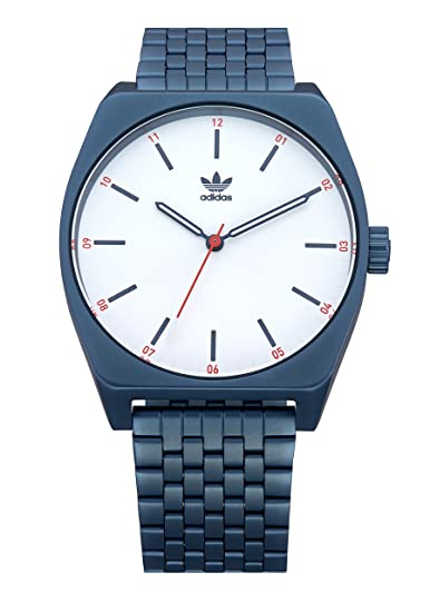 3535383e7100c Adidas Watches Process_M1. 6 Link Stainless Steel Bracelet, 20mm Width (38  mm)