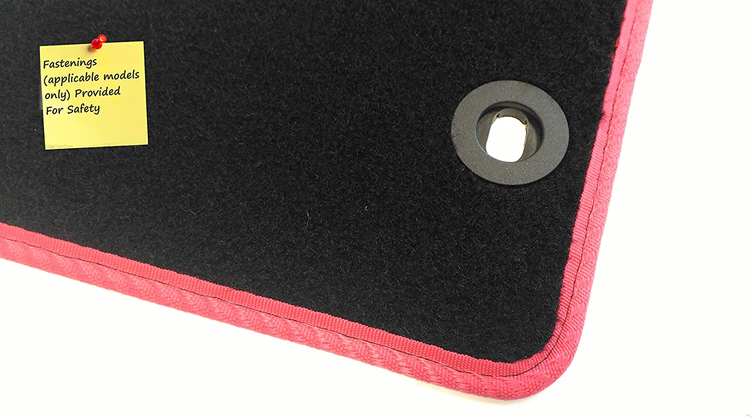 Black with Blue Trim Premium 2006- Car Mat Set Connected Essentials CEM650 GTV