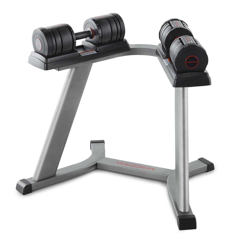 Weider Speed Weight 100 - Mancuerna (Ajustable, Hierro Fundido, de ...