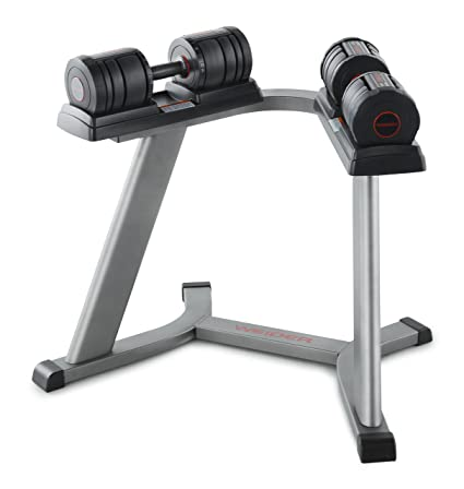 Weider SpeedWeight 100 (15 50 Lbs.) Adjustable Dumbbell Set With Stand