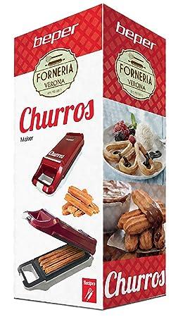Beper BT.600Y - Máquina para churros - Linea Party - candy tipici la España: Amazon.es: Hogar