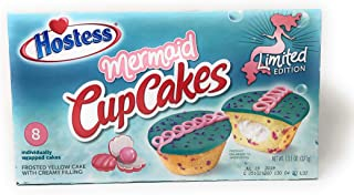 product image for Hostess Limited Edition Mermaid Cupcakes 8 Individually wrapped cakes 13.1 oz