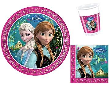 Disney Frozen Die Eiskonigin Geburtstag Party Geschirr Fur 8
