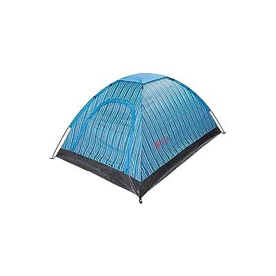 Mountain Warehouse Tente d'homme du festival 2 - tente légère de couples, tangage automatique, résistant à l'eau, mises à l'air libre - accessoire campant