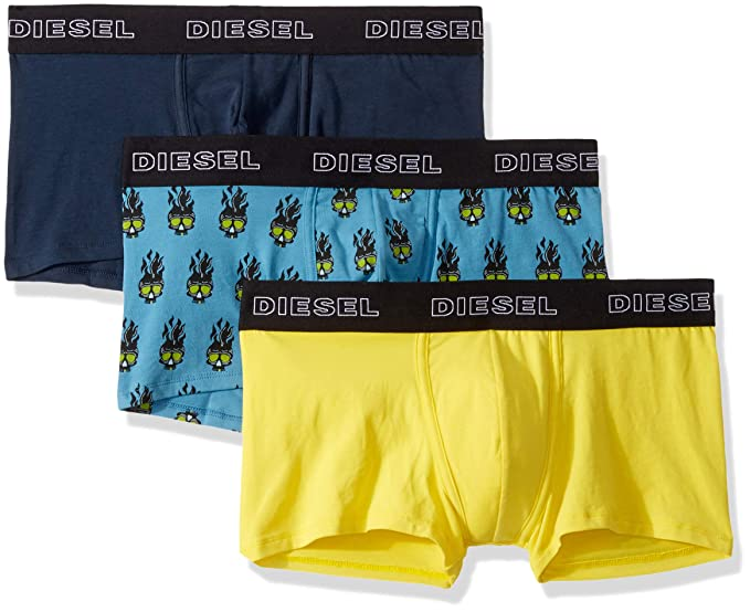 Diesel 迪赛 kory 弹力棉 男式四角内裤*3条装 5.2折$20.23 海淘转运到手约¥151 中亚Prime会员可凑单免运费直邮到手约¥186