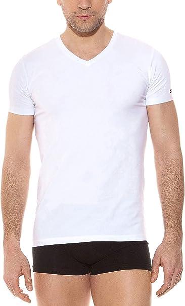 Pierre Cardin Pack 3 Camisetas V Manga Corta: Amazon.es: Ropa y ...