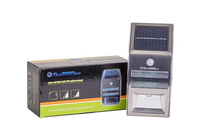 amazon com solar led motion light garden outdoor rh amazon com