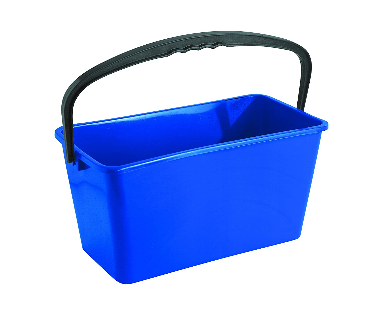 Discounted Cleaning Supplies Economy Windows Cleaners Utility Bucket, Blue, 12 L CD002
