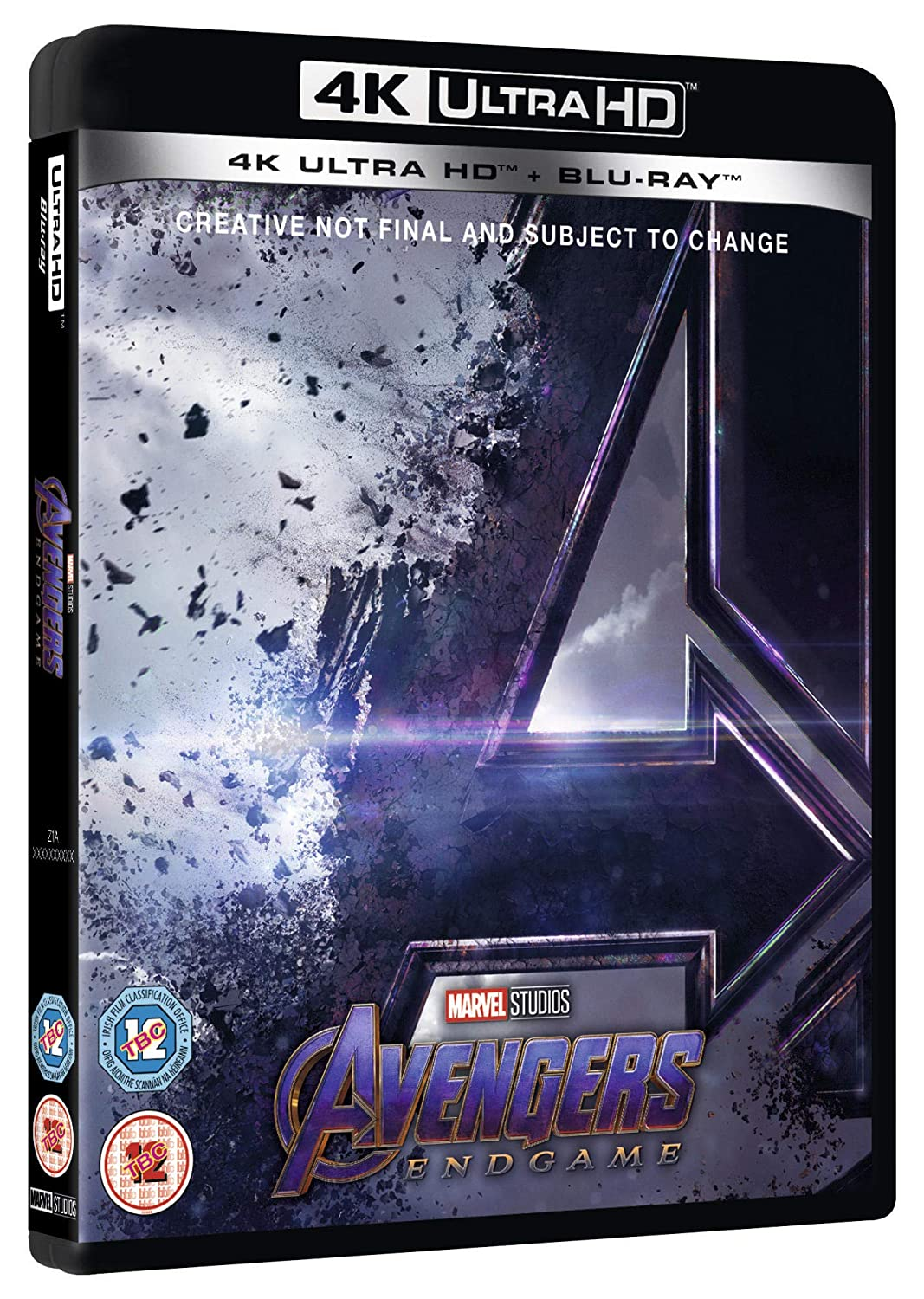 Avengers Endgame Blu-ray + 4K UHD 2019 Region Free: Amazon co uk