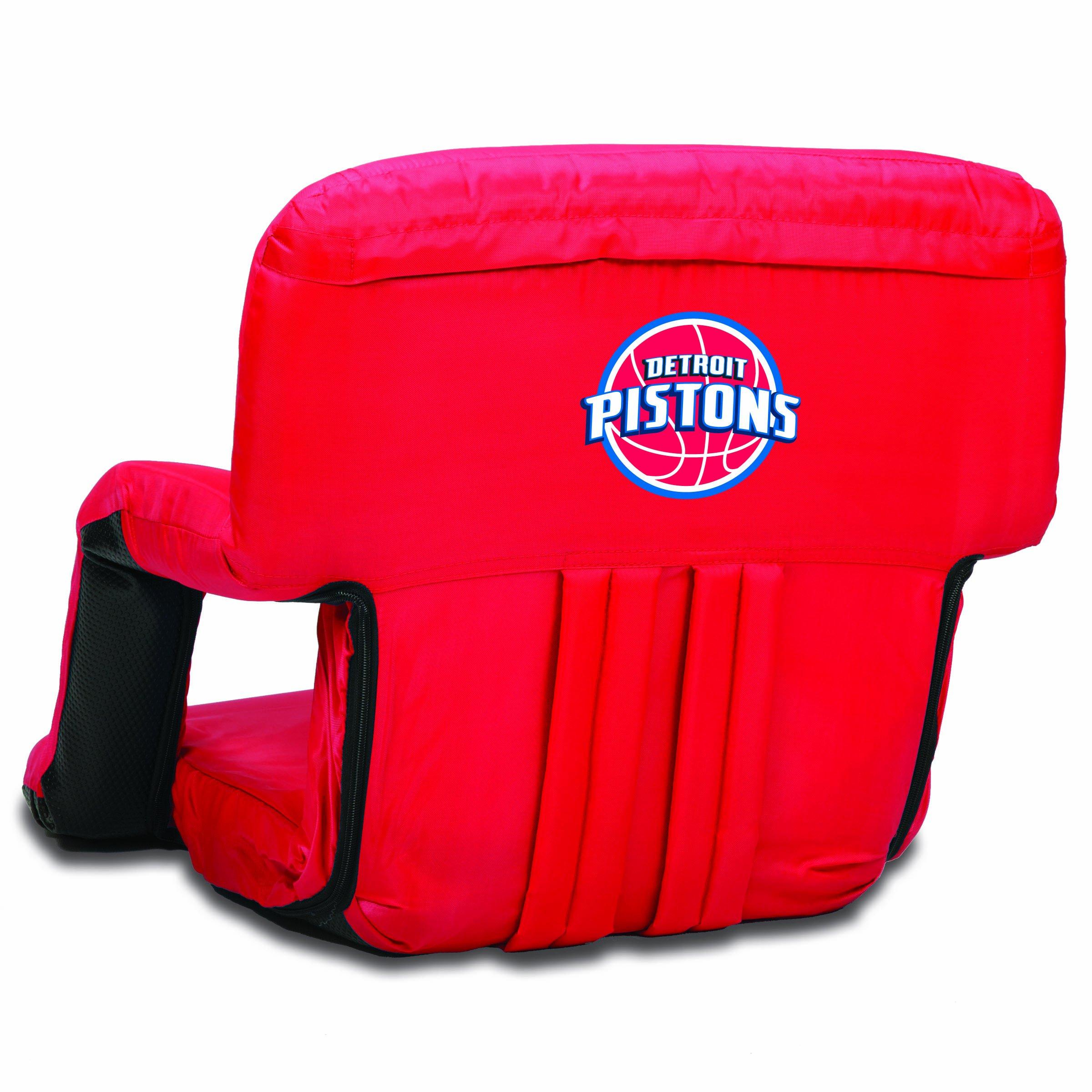PICNIC TIME NBA Detroit Pistons Ventura Portable Reclining Seat