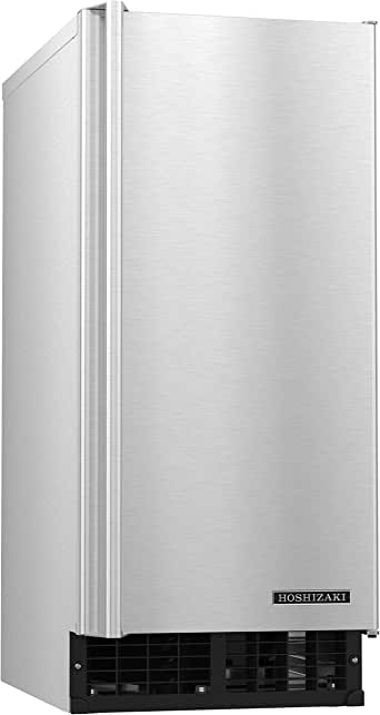 """Hoshizaki AM-50BAJ 15"""" UL Listed Built-In Self Contained Ice Maker With 55 lbs, Stainless"""