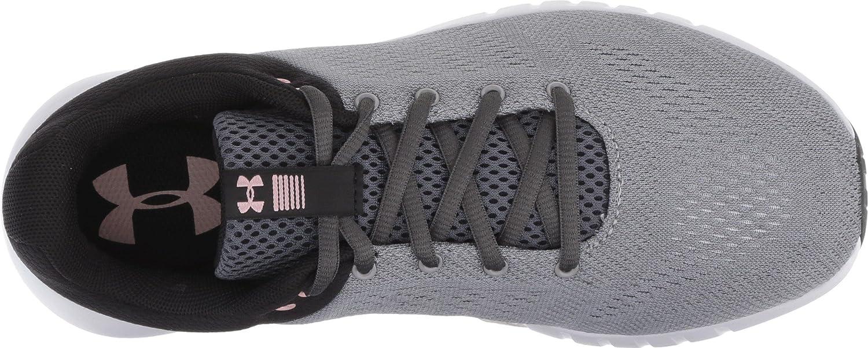 Under Armour Women's Micro G Pursuit Sneaker B07742D26T 7 M US|Steel (112)/Black