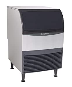Scotsman - UN324A-1-340 lb Nugget Ice Machine with Storage Bin