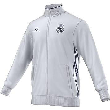 adidas Real Madrid 3S TRK Top Sudadera, Hombre, Blanco/Morado (Balcri/Mornat), XS: Amazon.es: Deportes y aire libre