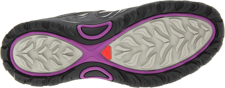 Salomon Damen L32978000 L32978000 L32978000 Trekking-& Wanderhalbschuhe Grau (Dark Titanium / Asphalt / Anemone Purpl) 118c7a