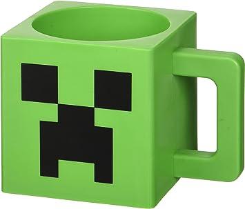 Minecraft Taza Oficial Creeper I Taza de Cer/ámica de 600ml I Taza del Juego Taza con Dise/ño del Personaje para Regalo de Cumplea/ños y Navidad
