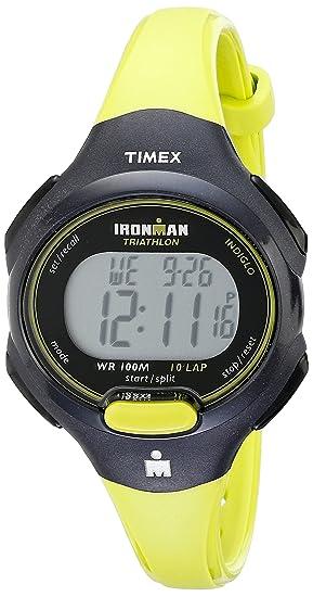 Timex Reloj Mujer de Digital con Correa en Resina T5K5279J: Timex: Amazon.es: Relojes