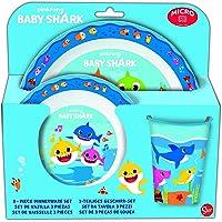 Stor - Baby Shark 13549. Set de vajilla.