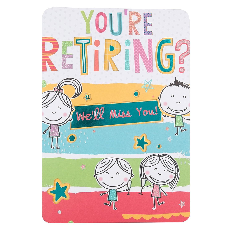 Large Hallmark Retirement CardHave Fun
