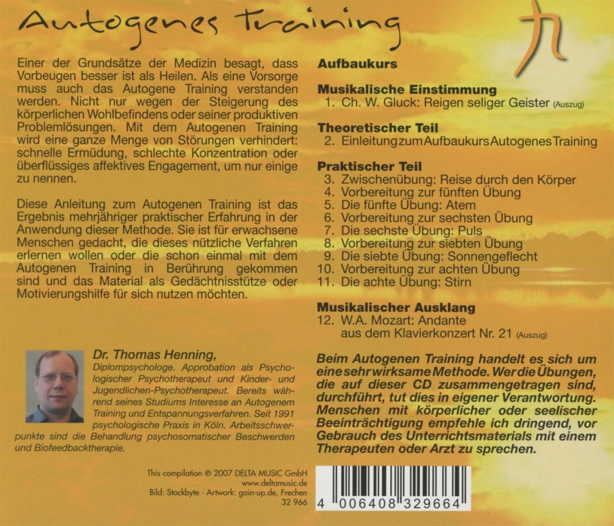 Autogenes training cd