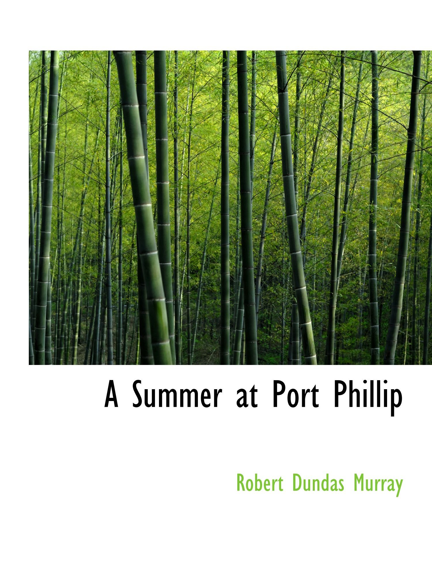 A Summer at Port Phillip pdf
