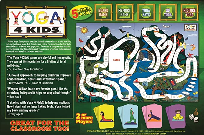 Amazon.com: Yoga 4 Kids Juegos: Toys & Games
