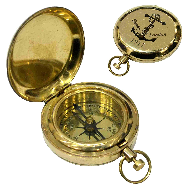 真鍮Nauticalポケットコンパス B06XXZT6G3