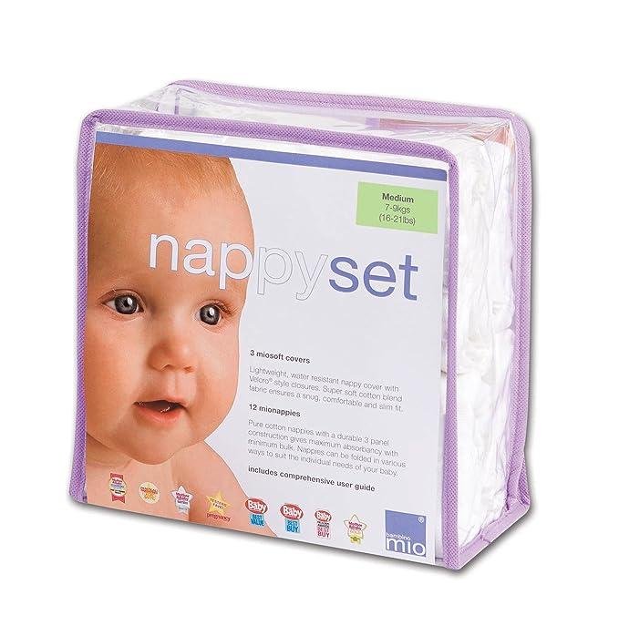 3 opinioni per Bambino Mio NSM Nappy Set Medium (7-9 kg)